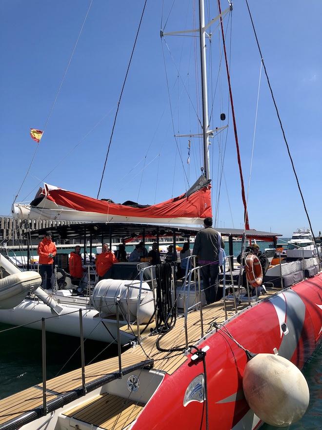 w catamaran barcelona