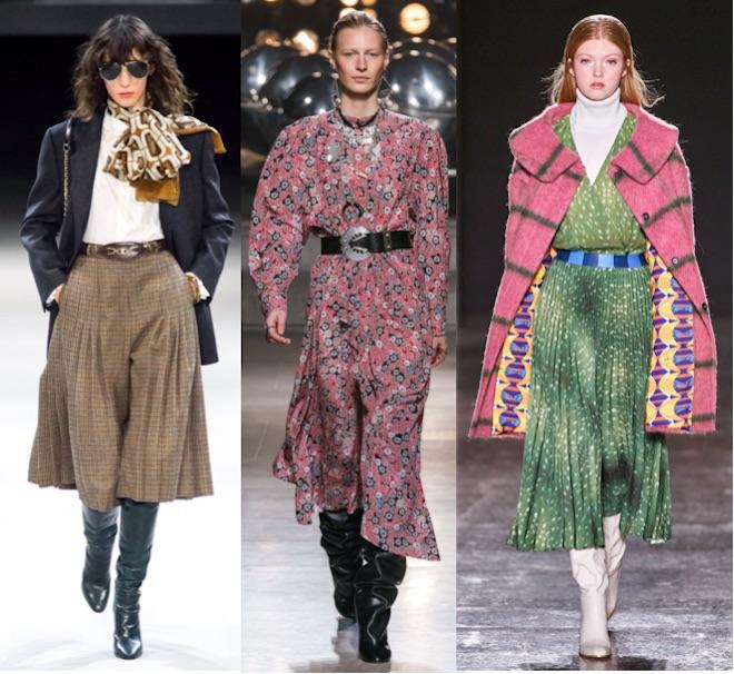 moda seventies invierno 2020