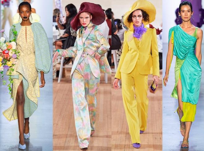 amarillo color de moda primavera 2020
