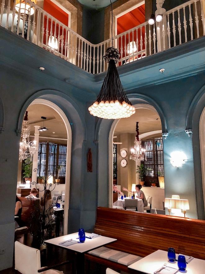 restaurante Senyor Parellada decoracion