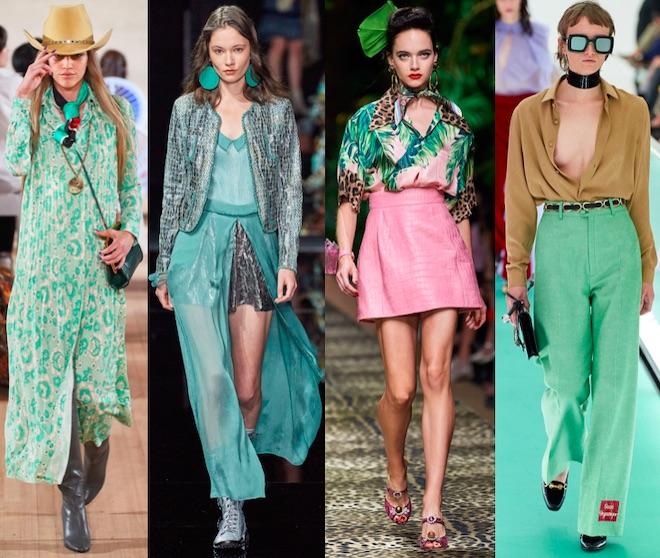 verde colores de moda pv 2020