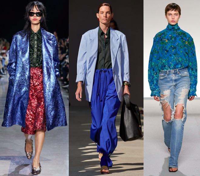 azul color de moda 2020 combinaciones cromaticas