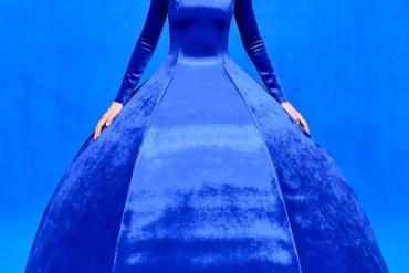 classic blue balenciaga ss2020
