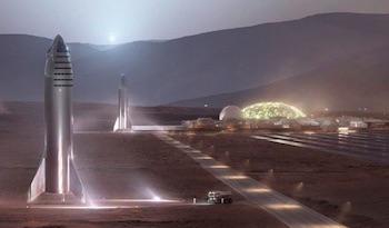 colonizacion marte 2022