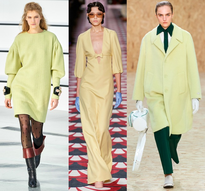 color trend fw 2020 21 amarillo