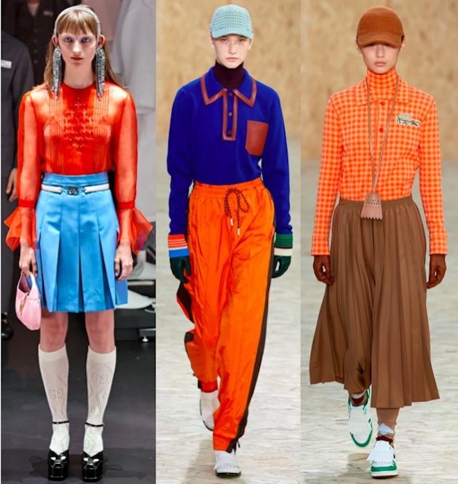 colores de moda invierno 2020 naranja