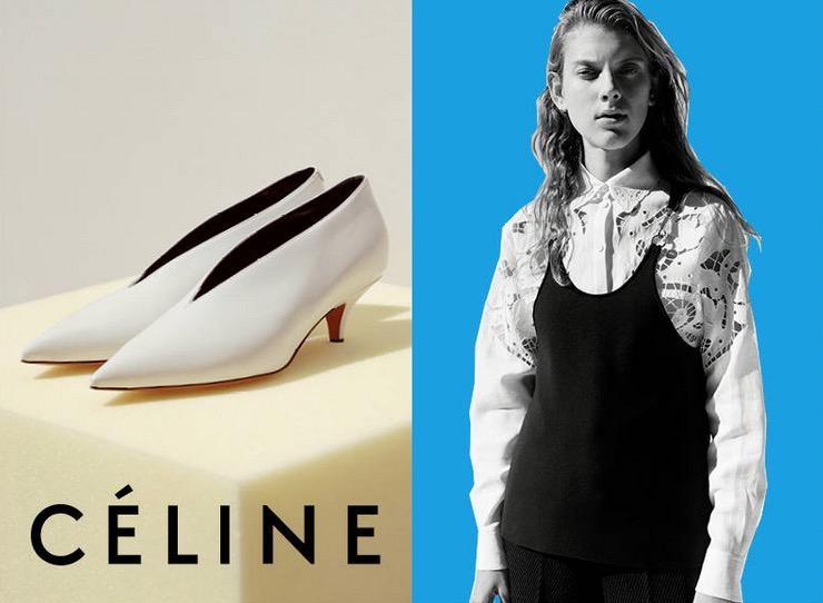 © Céline. Imagen de la campaña Fall/Winter 2015 de la firma.