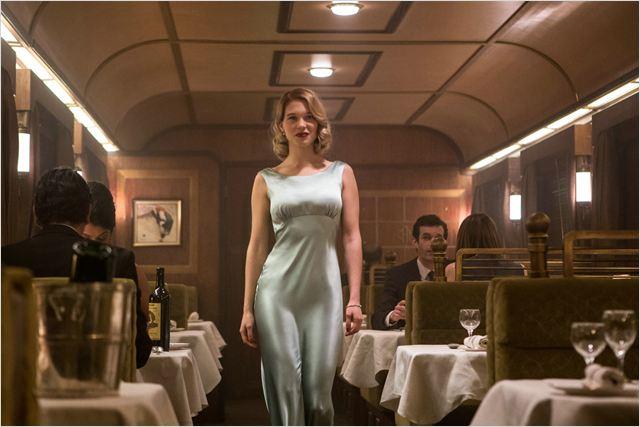 © Spectre. La actriz en una secuencia de la última saga de James Bond.