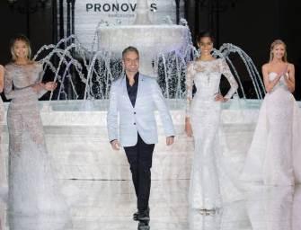 Hervé Moreau triunfa con sus magníficas creaciones para Pronovias