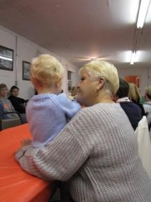 My son and his grandma