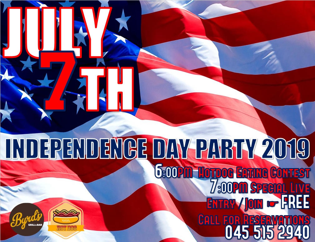 INDEPENDENCE DAY PARTY2019