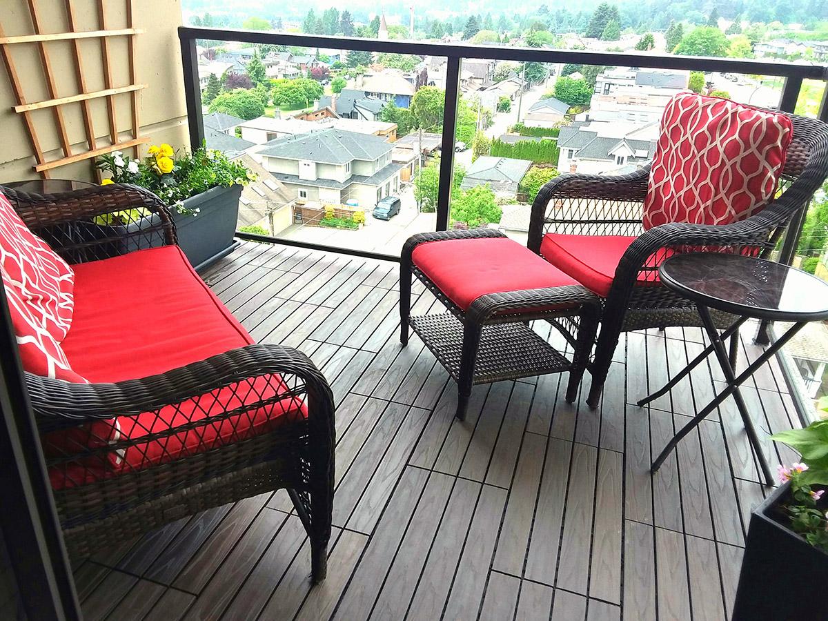 condo balcony flooring patio tiles
