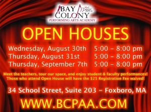 Open House @ BCPAA