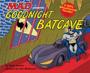 Goodnight Batcave book cover