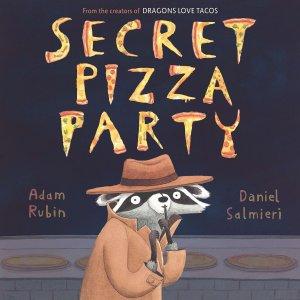 Secret Pizza Party book cover