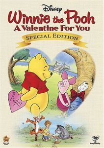 Winnie the Pooh a Valentine for You cover
