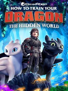 How to Train your Dragon The Hidden Wolrd Movie Cover