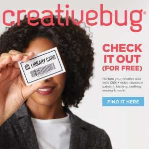 CreativeBug block ad