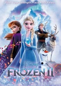 Frozen II DVD cover
