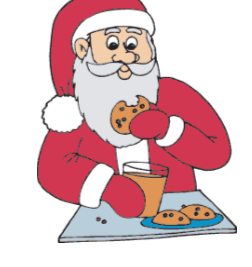 Buchanan County Public Library Cookies With Santa