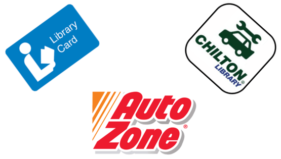 Library Card Signup at Auto Zone