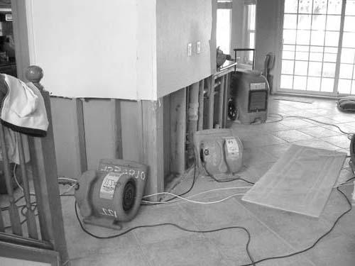 Water Damage Cleanup Repair