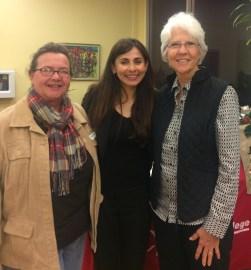 Meg Gonder, Sonya Christian, Linda Hudson