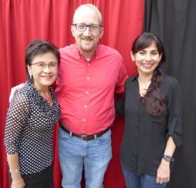 Karen Goh, Francis Mayer, Sonya Christian