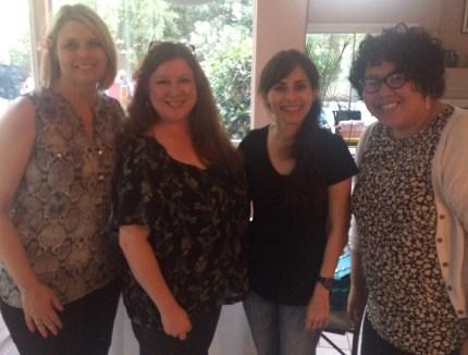 Tracy Hall, Jennifer Marden, Sonya Christian, Somaly Boles