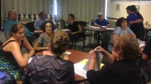 Faculty workshop July 18 2016