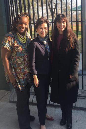 NaTesha Kindred, Karen Goh, Sonya Christian