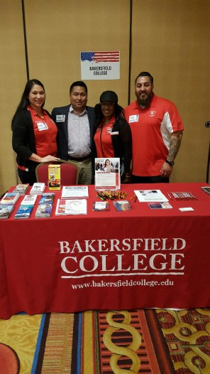 Trustee Agbalog with BC students