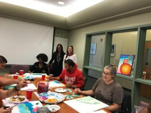 Focused Painting activity