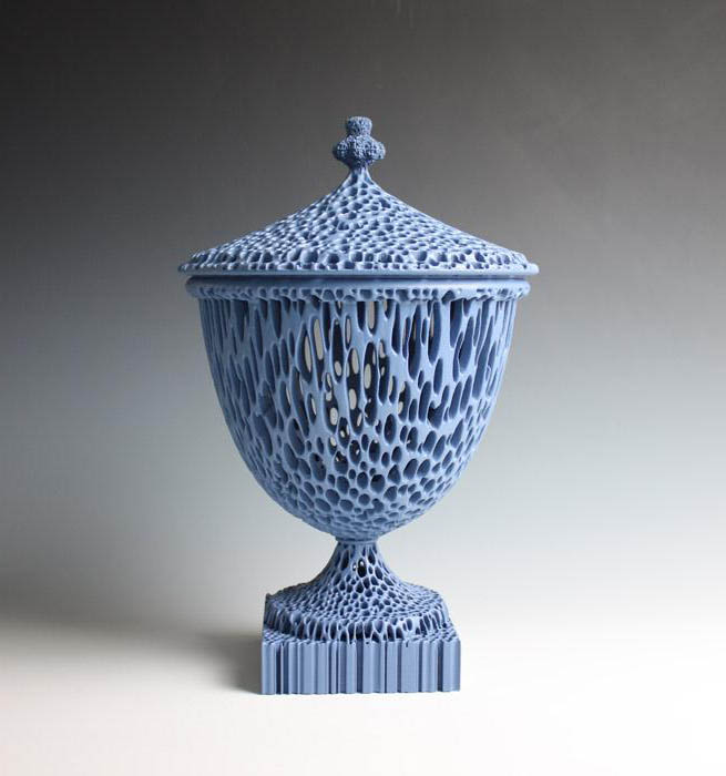 """""""The Wedgwoodn't Tureen"""" in Blue."""