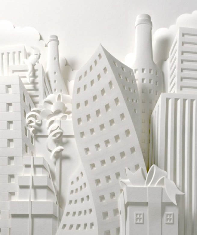 3 Dimension Paper Design by Jeff Nashinaka