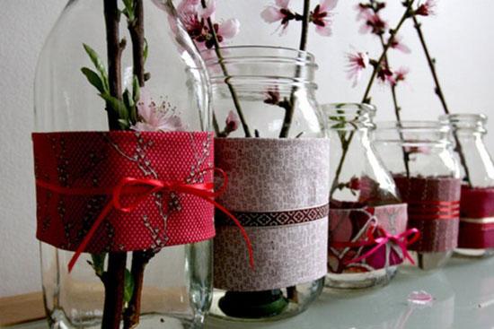 Decorating Mason Jars