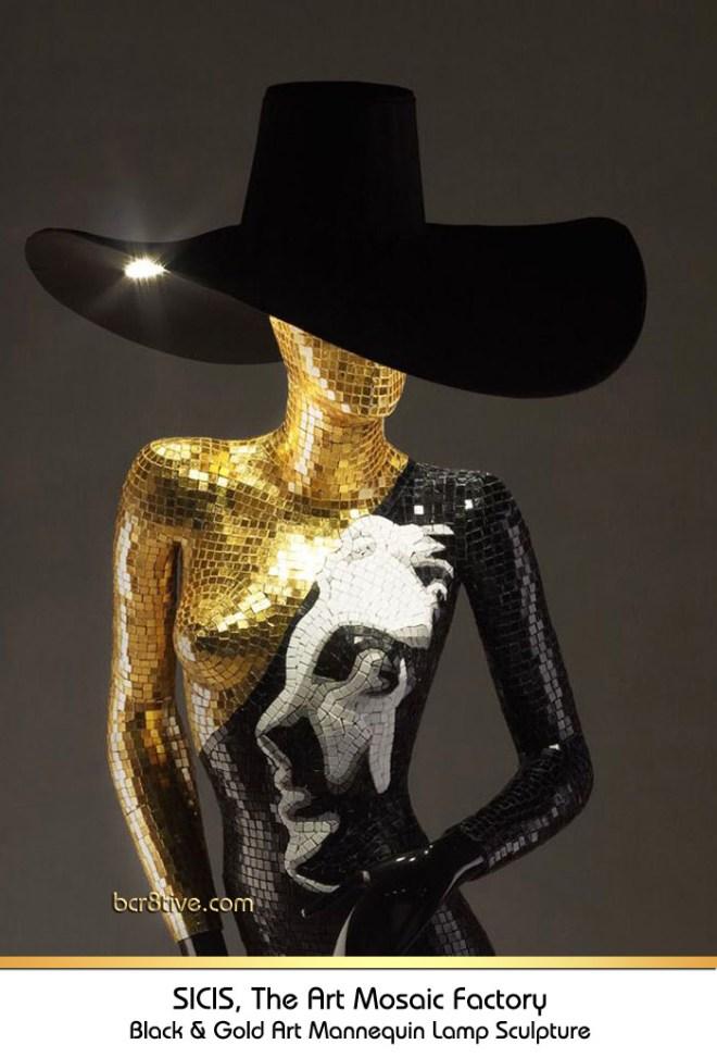 Sicis Mannequin Lamp Sculpture