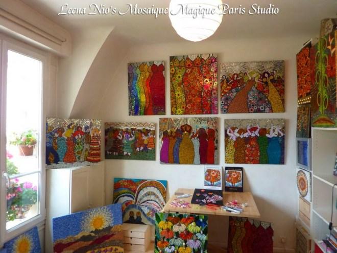 Leena Nio's Studio in Paris