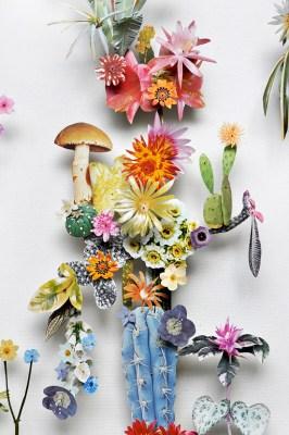 3D Botanical Flower Constructions by Anne Ten Donkelaar #17c