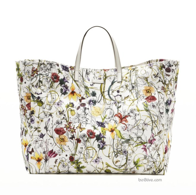 Gucci Large Flora Infinity Canvas Tote