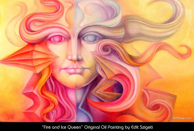 """Edit Szigeti's """"Fire and Ice Queen"""""""
