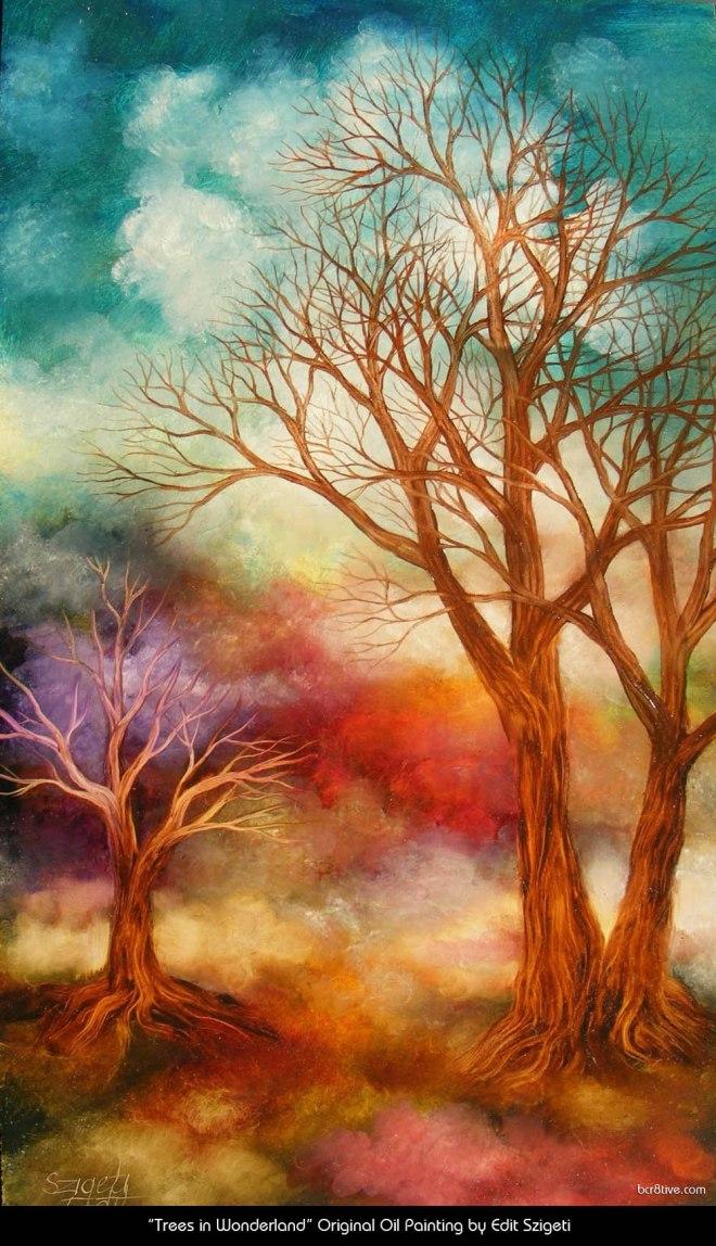"Edit Szigeti's ""Trees in Wonderland"""