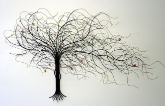 September Tree - Metal Wall Art by Suat Gurtan - http://www.gurtan.com
