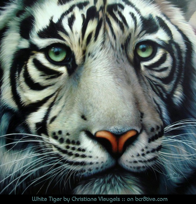 """Christiane Vleugels """"White Tiger"""""""