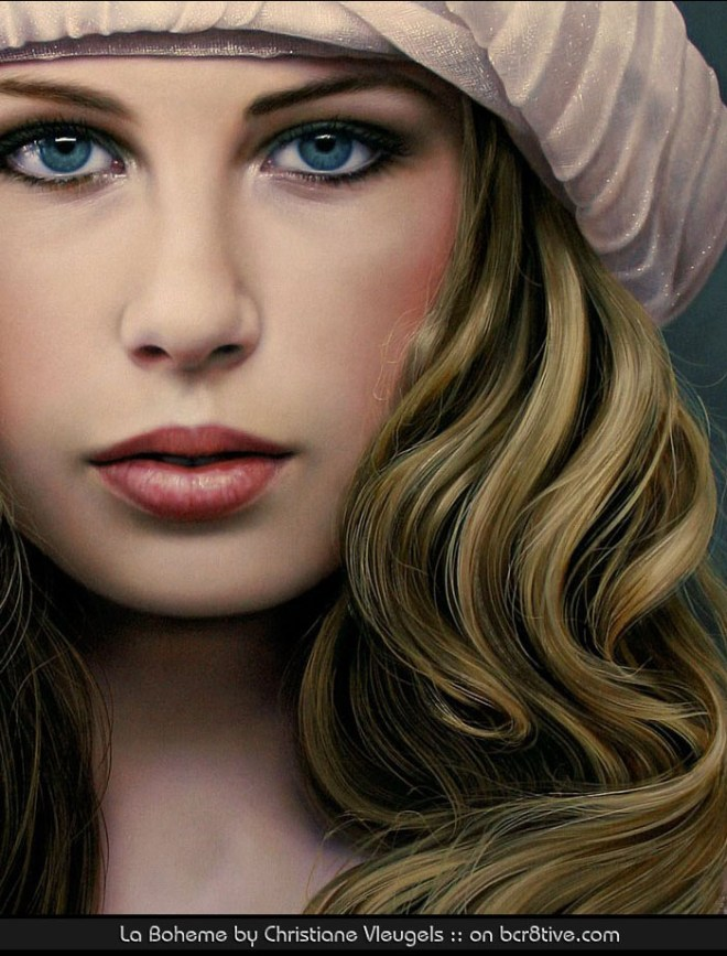 La Boheme by Christiane Vleugels - Close Up