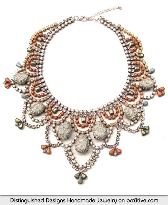 Distinguished Designs Handmade Statement Necklace