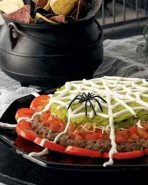 Halloween Party Ideas - 7 Layer Dip