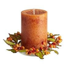 Spice Cake Candle Fall Decor