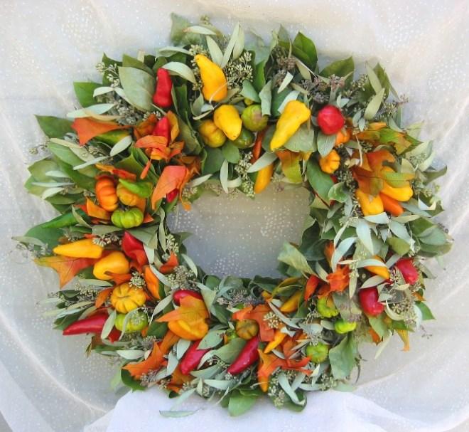 Chile Pepper Wreath