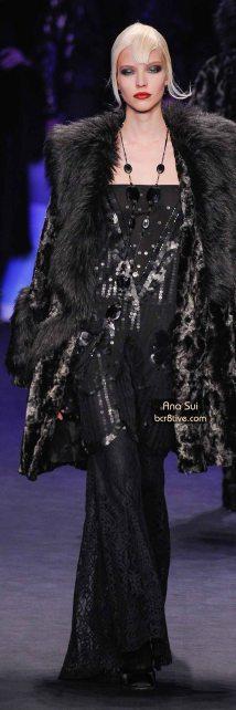 Ana Sui FW 2014 #NYFW